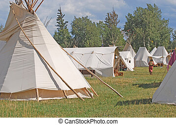 Fort Bridger Rendezvous - Mountain Man rendezvous at Fort...