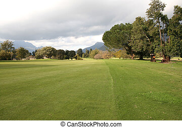Courses - Golf Course in Stellenbosch in South Africa during...