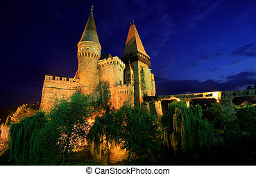 Corvinesti Castle - 14 th Century Gothic castle, built on...