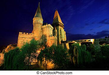 Corvinesti Castle - 14 th Century Gothic castle, built on...