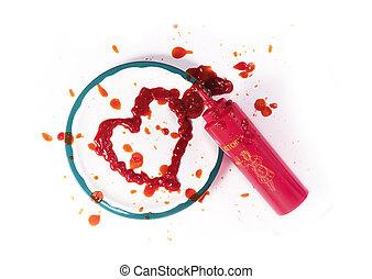 Ketchup Heart