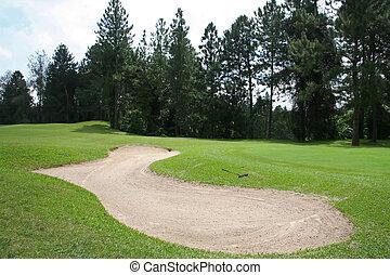 Golf sandtrap
