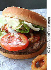 Fastfood hamburger