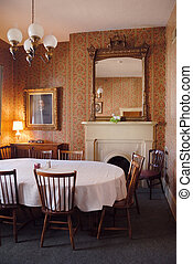 1800s Home Dining Room