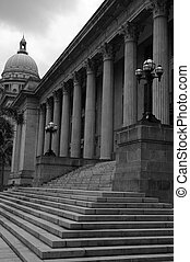 Colonial Court House - The supreme court building in...
