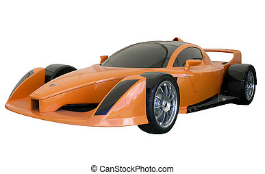 Hulme SuperCar 2005 - The New Zealand designed & built Hulme...