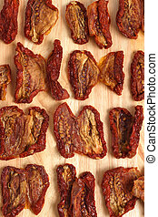 Sundried tomatoes - A background image of sun-dried tomatoes...