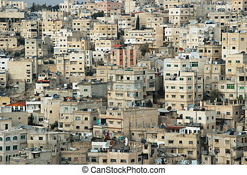 city on Amman - Jordan