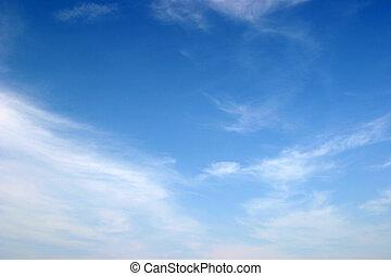 Perfect sky - Calm optimistic sky for presentations
