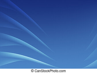 abstract waves - blue abstract image of waves or points like...