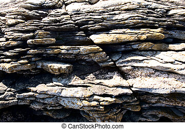 Jagged Rock Texture - Background image of jagged rocks