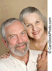 Committed Couple - A committed, happily married middle aged...
