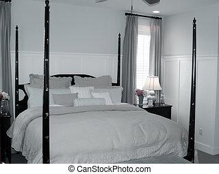 Interior Design - pretty four poster bed