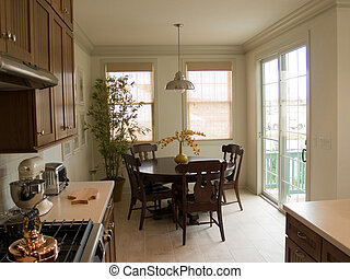 Interior Design - Kitchen and breakfast nook