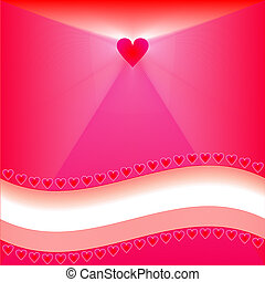 Heart Background - Heart background design for valentines or...