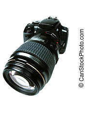 SLR Camera - An SLR Camera with a large lens