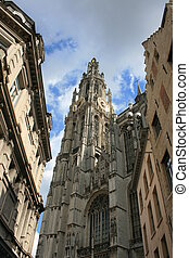 Antwerp - The Cathedral Of Our Lady, Antwerp, Belgium