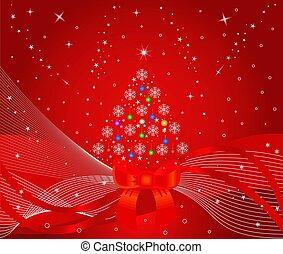 Christmas tree - illustration