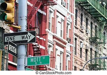 Mott Street, Manhattan - Mott Street , unofficial Main...
