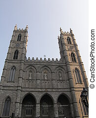 Notre Dame Basilica in Montreal, Canada