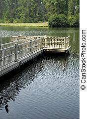 Secluded Lake Platform
