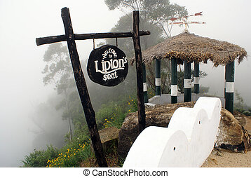 View point Liptons peak near Haputale, Sri Lanka...