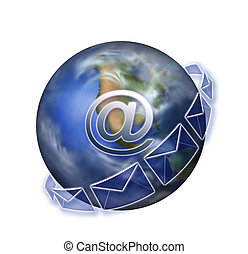 Email Icon against white background