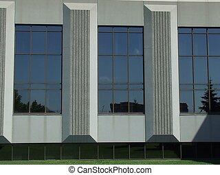 grande, janelas