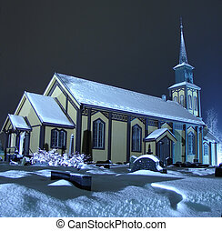 christmas church in norway