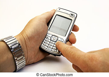 Dialing on a cellular phone