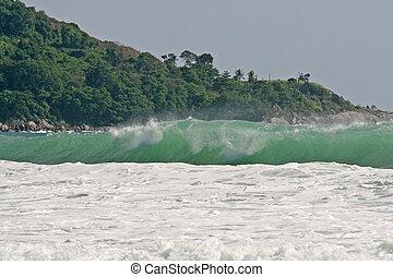 Powerful Tropical Waves