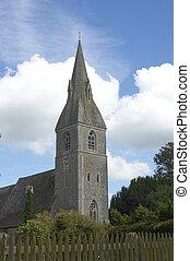 Rural church - A church in a rural setting in England