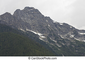 Mountains Ringing Diablo Lake, North Cascades National Park