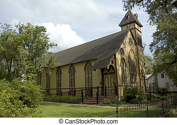 Old Gothic Church - An old Gothic church, built in the...