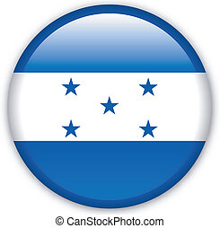 Button Honduras - Button with map from Honduras