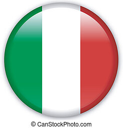 Button Italy - Button with map from Italy