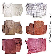 Pijamas - Six pairs of pajamas