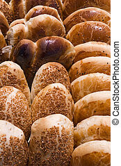 Pastries - Different kinds of traditional pastries in...