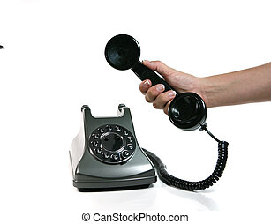 Would You Like to Take This Call - Vintage Telephone Waiting...
