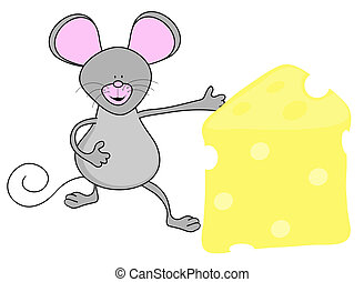 Mouse and swiss cheese