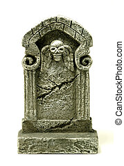 Headstone - Photo of a Headstone Tombstone - Halloween...