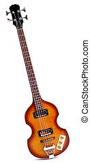 Electric Bass Guitar - Viola Style Sixties Bass Guitar...