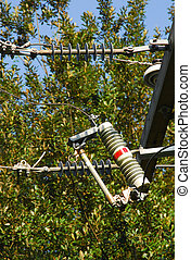surge arrester - arrester to cut power if overloaded