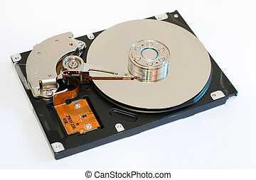 The computer hard disk drive - HDD
