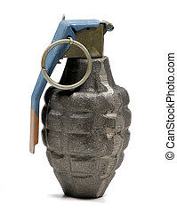 Genade - Photo of a Hand Grenade - Weapon War Related