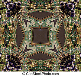 Circuit board - A a background made from a close up of a...
