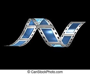 filmstrip v2 - 3d, filmstrip, film, strip transparent with...