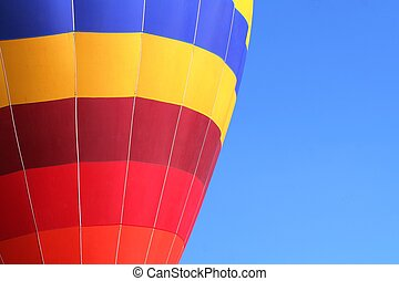 Colorful dirigible