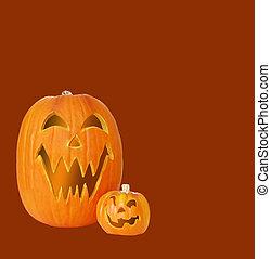 Jack O Lantern Pumpkins - Carved jack o lantern pumpkins...