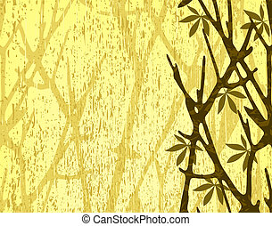 Branches - Illustration of tree branches with background...